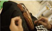 木型補正・つり込み・手縫い加工