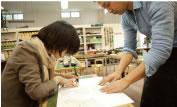 型紙ができるまで・資材選び・デザイン画を書く