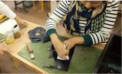 素材選び・型紙・縫製